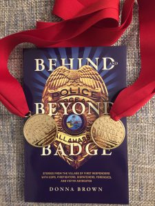 Beyond And Behind The Badge cover